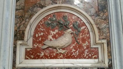 Pigeon from the Vatican