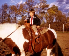 little ben on horse